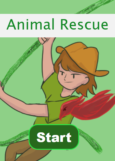 Animal Rescue Start page