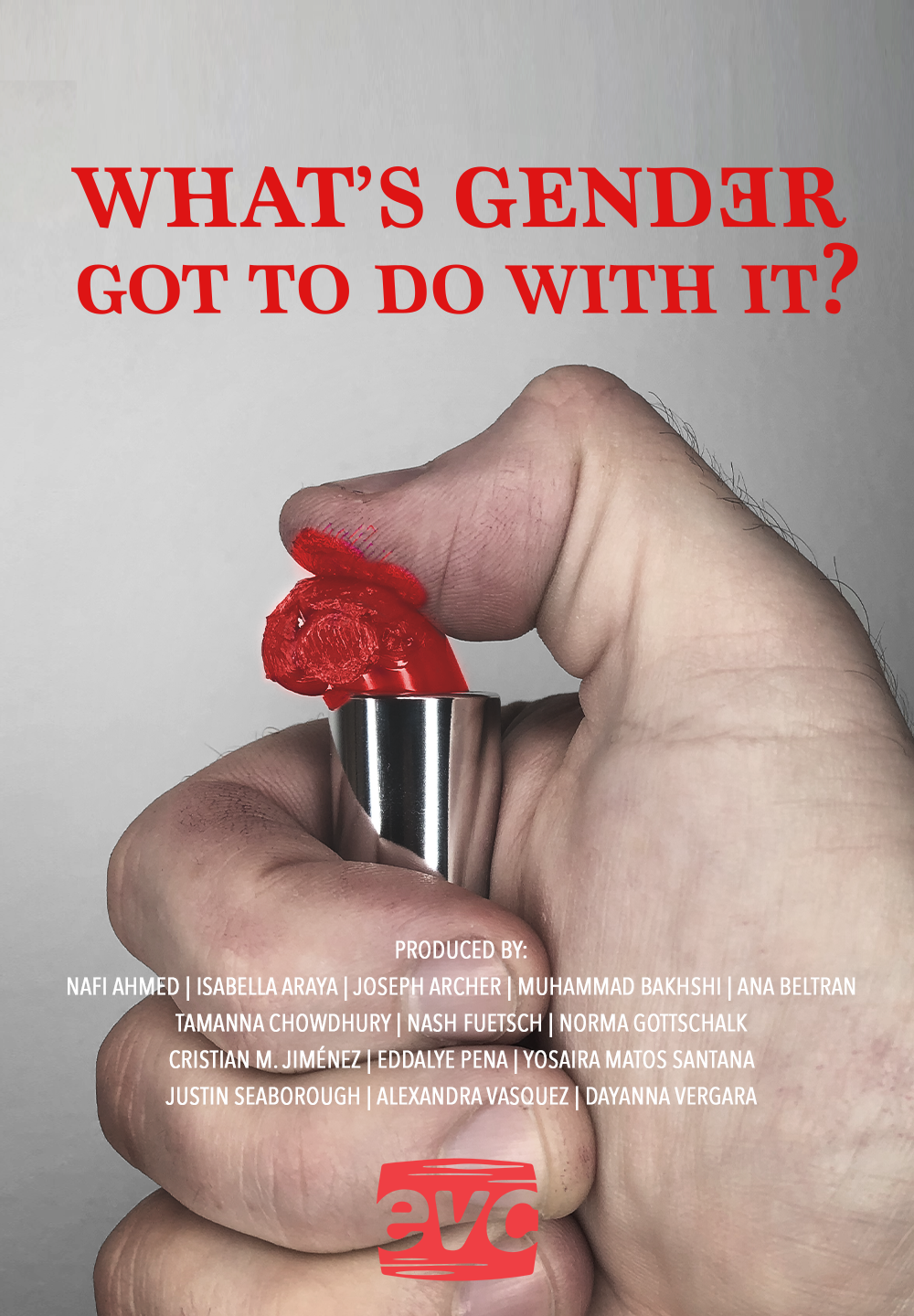 Copy of What s Gender Got to Do With It EVC poster