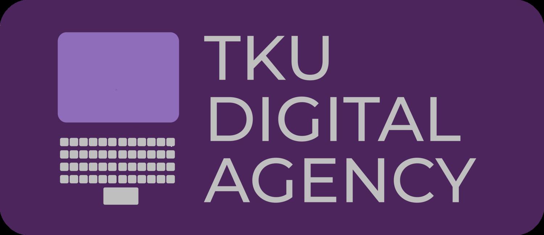 Digital Agency Logo purple bkgd