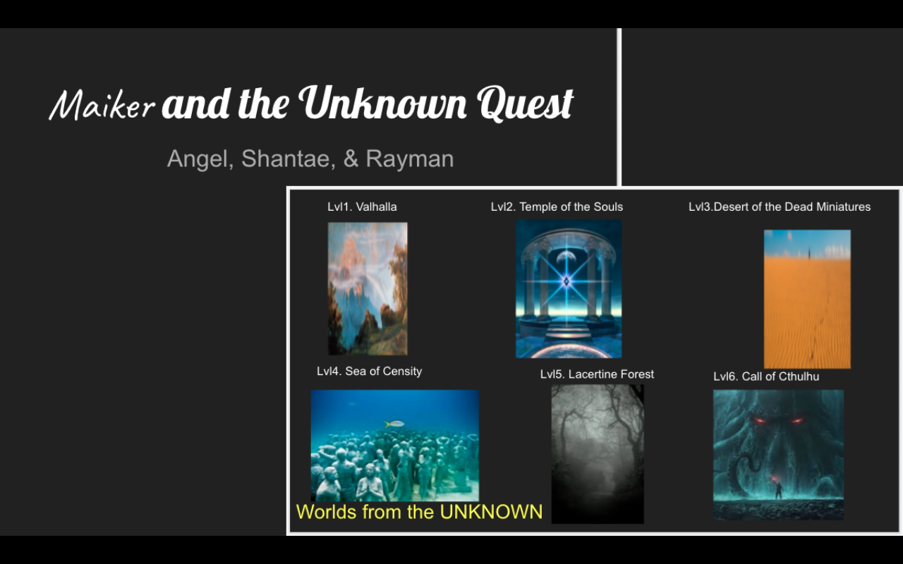 Maiker and the Unknown Quest