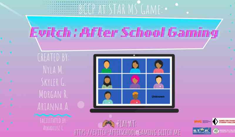 Evitch: After School Gaming