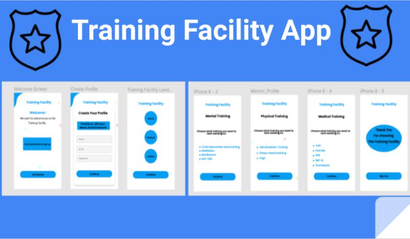 Training Facility App