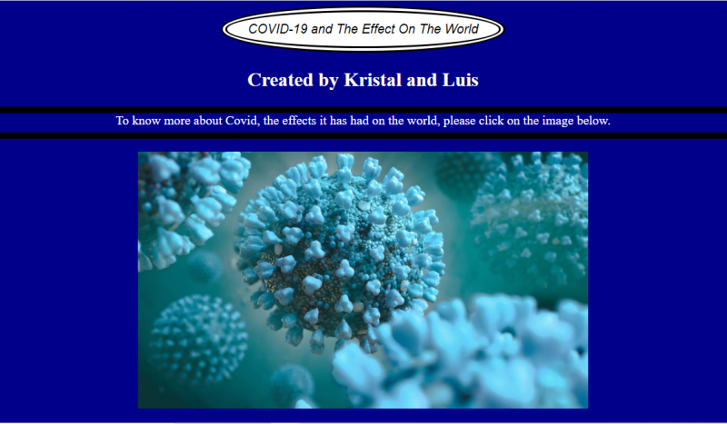 COVID-19 and the Effect on the World
