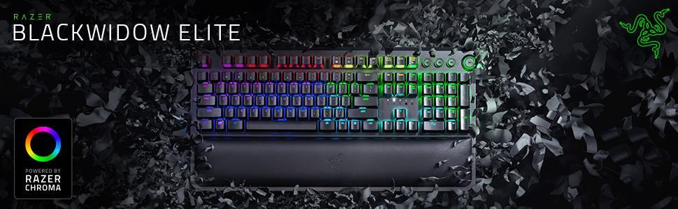 Razer BlackWidow Elite Mechanical Gaming Keyboard (Yellow Switch) 1