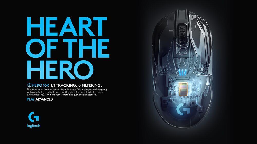Logitech G903 LIGHTSPEED Gaming Mouse with HERO 16K Sensor 1