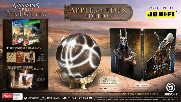 pick up b1797 0e438 Assassin's Creed Origins Apple Of Eden Edition