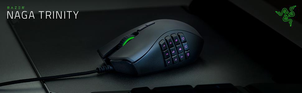 Razer Naga Trinity MOBA/MMO Gaming Mouse 1
