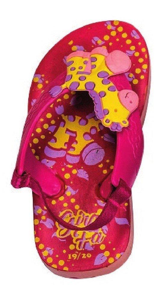 1287 - Chinelo Baby Girafa