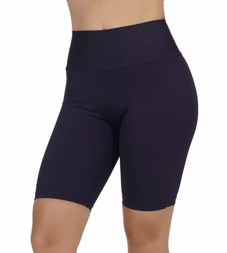 Bermuda Feminina Plus Size Ginástica Fitness
