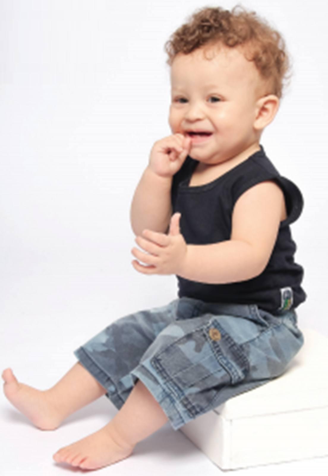 Bermuda Jeans Baby Camuflada