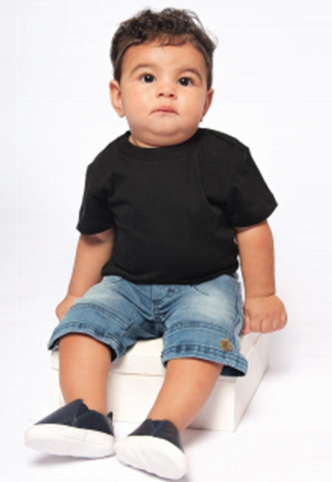 Bermuda Jeans Baby tradicional