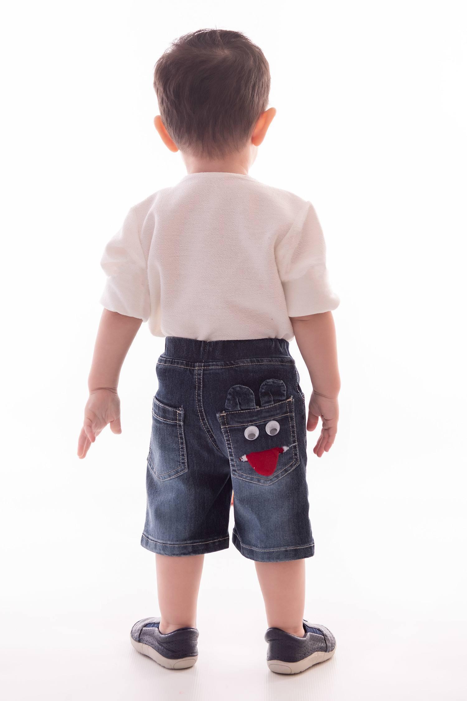 Bermuda Jeans para Menino Ref. 414
