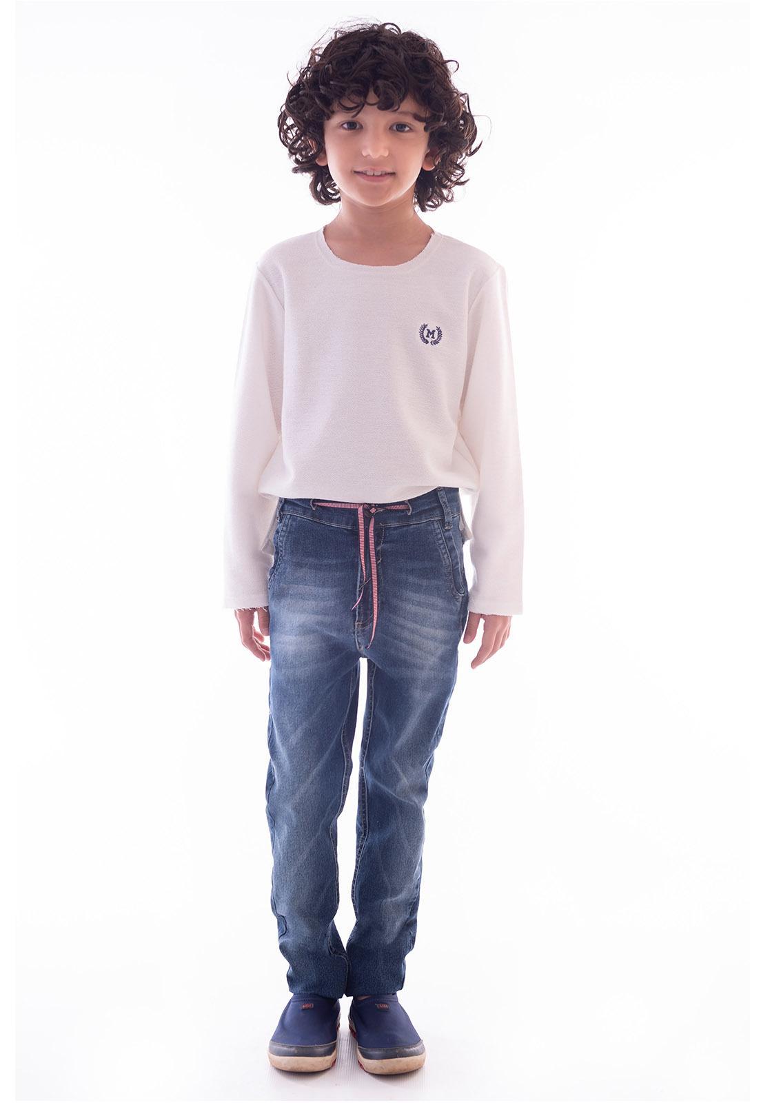 Calça Boyfriend Jeans com Elastano Ref. 507