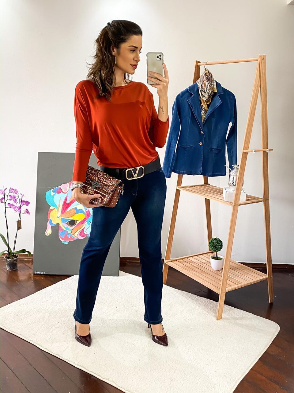 Calça Dinho's Jeans Reta (2650)