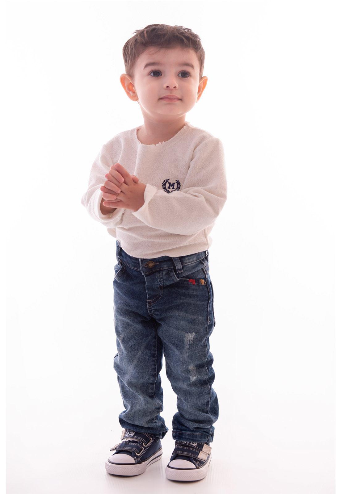 Calça Jeans com Elastano Ref. 421