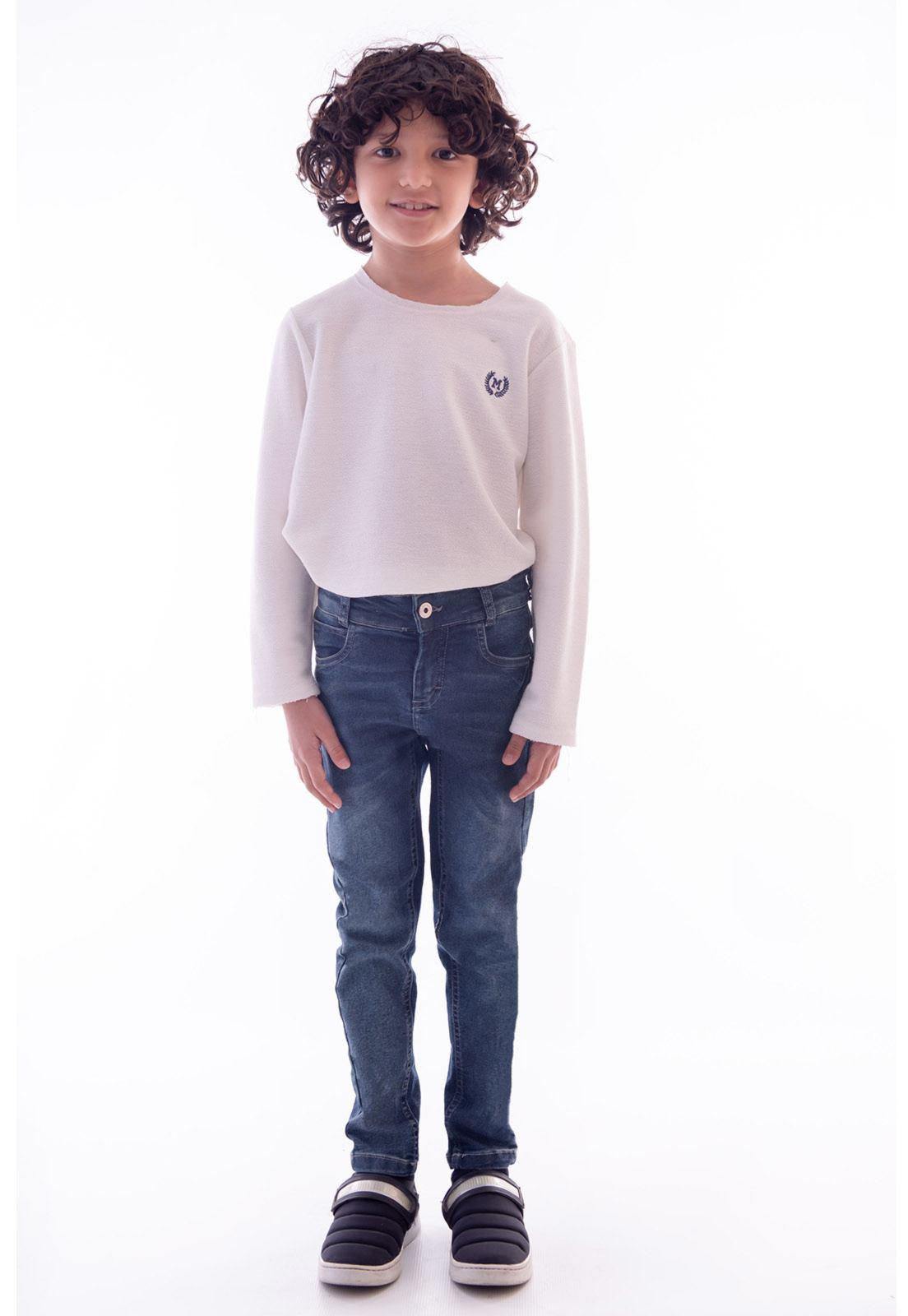 Calça Jeans com Elastano Ref. 514