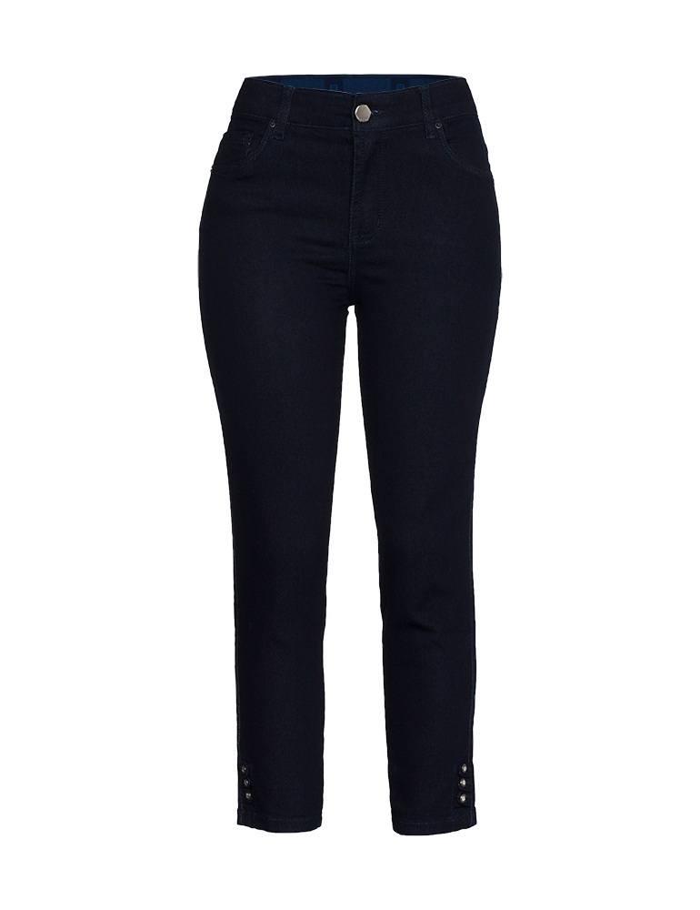Calça Jeans Cropped Feminina Fact Jeans Ref. 03998