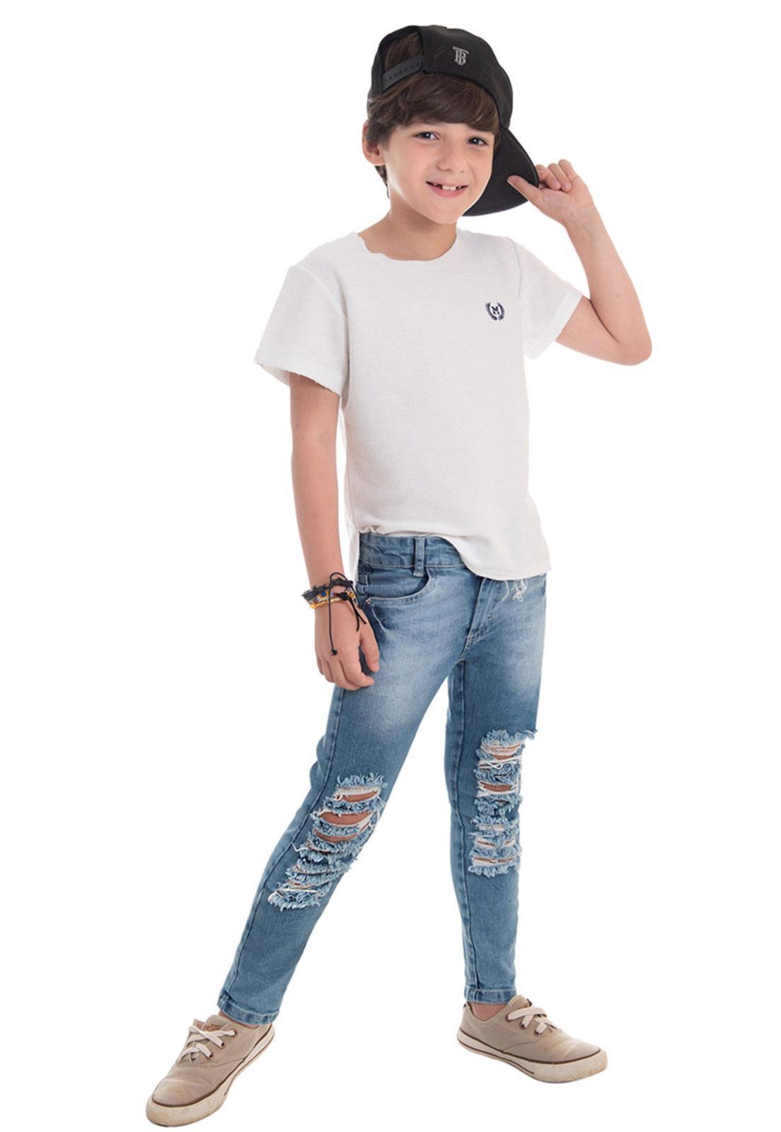 Calça Jeans Desroyed