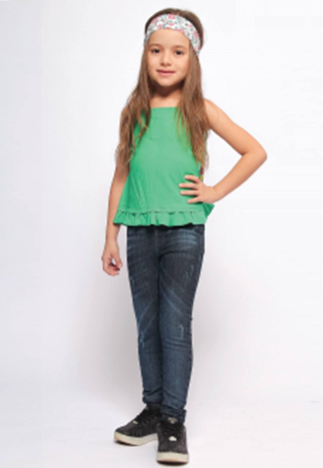 Calça Jeans Menina Básica Skinny Ref. 237