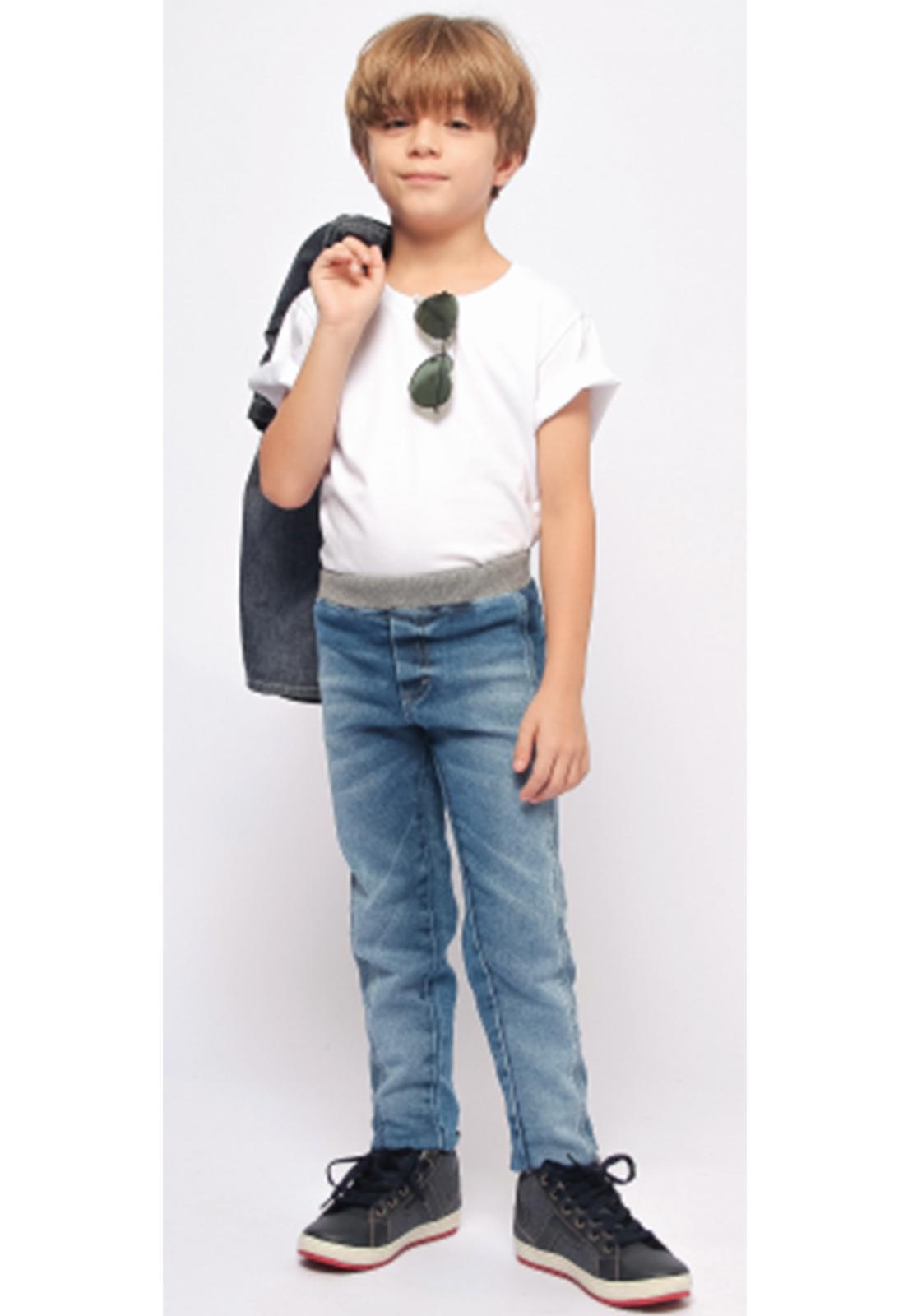 Calça Jeans Moletom com Cós em Ribana Ref. 240