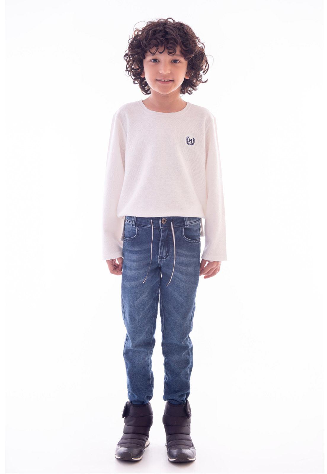 Calça Jeans Moletom Tradicional Ref. 509