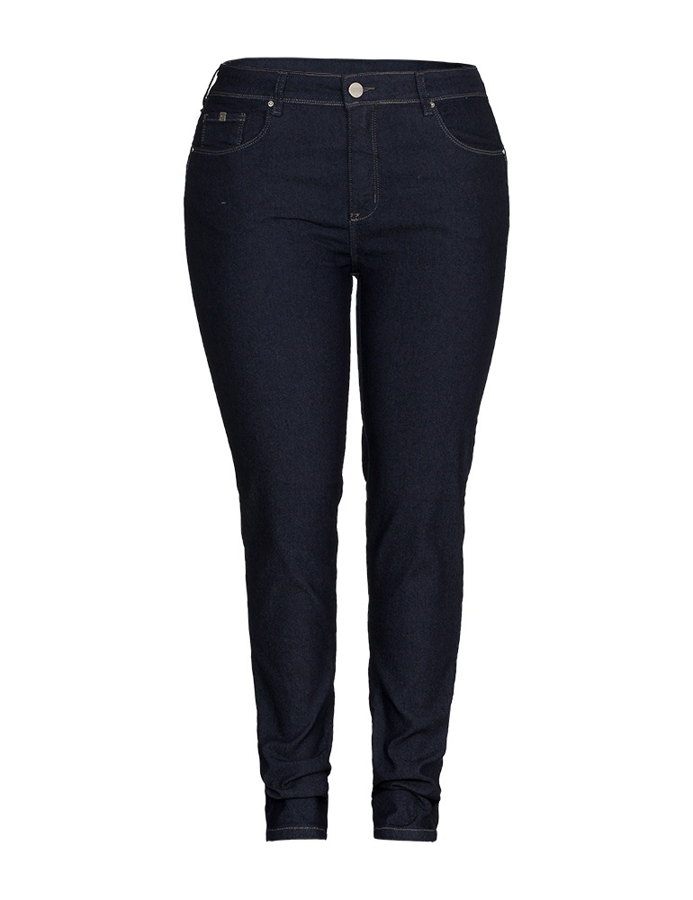 Calça Jeans Skinny Feminina Fact Jeans - Plus Size Ref. 04209