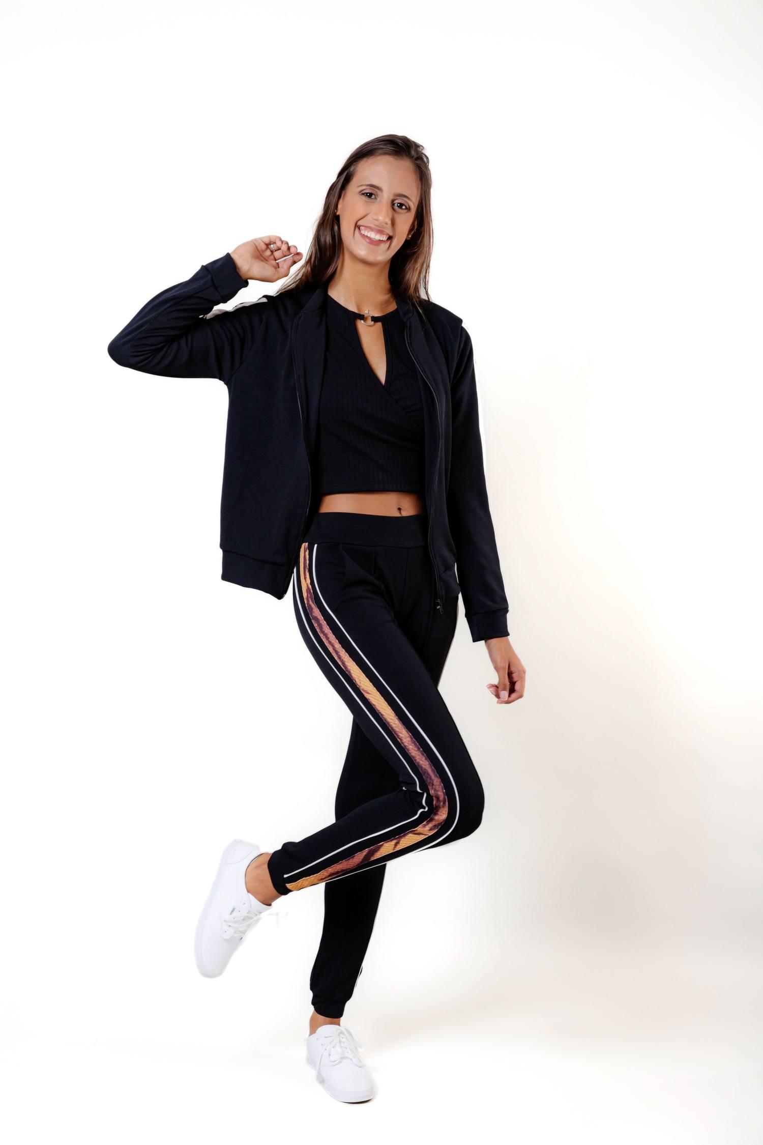 Calça Jogger Feminina - Leona Ref. 3461