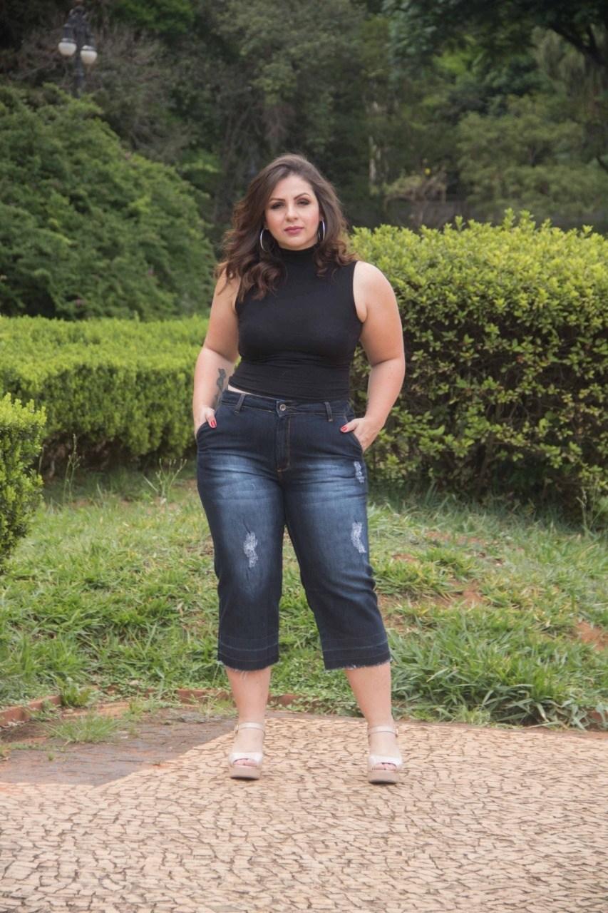 Calça Pantacourt Dinho's Jeans (2584)