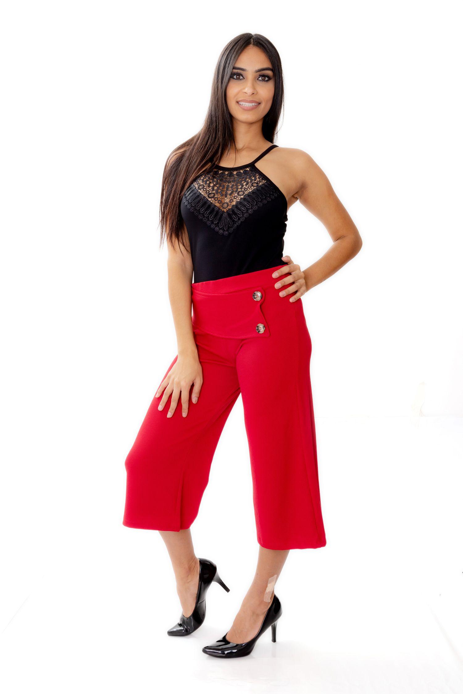 Calça Pantacourt - Selena Ref. 3753