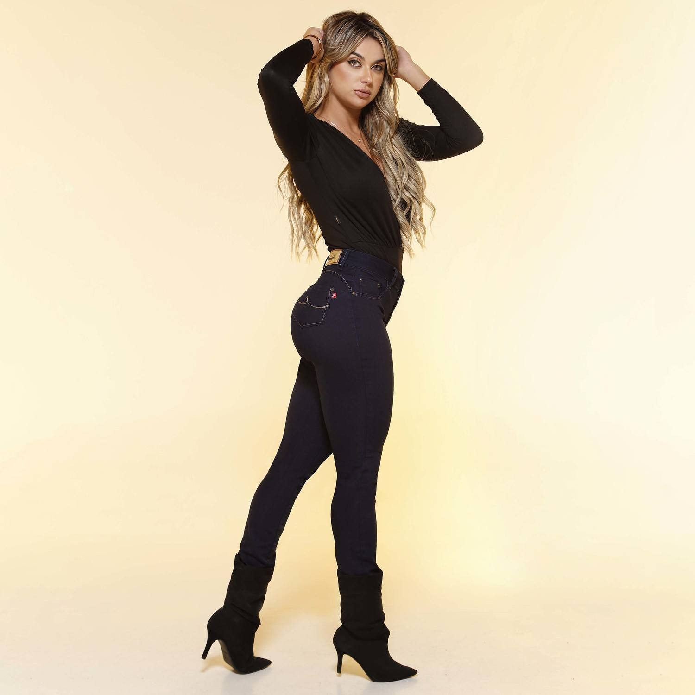 Calça Skinny Feminina Fact Jeans ref. 04442