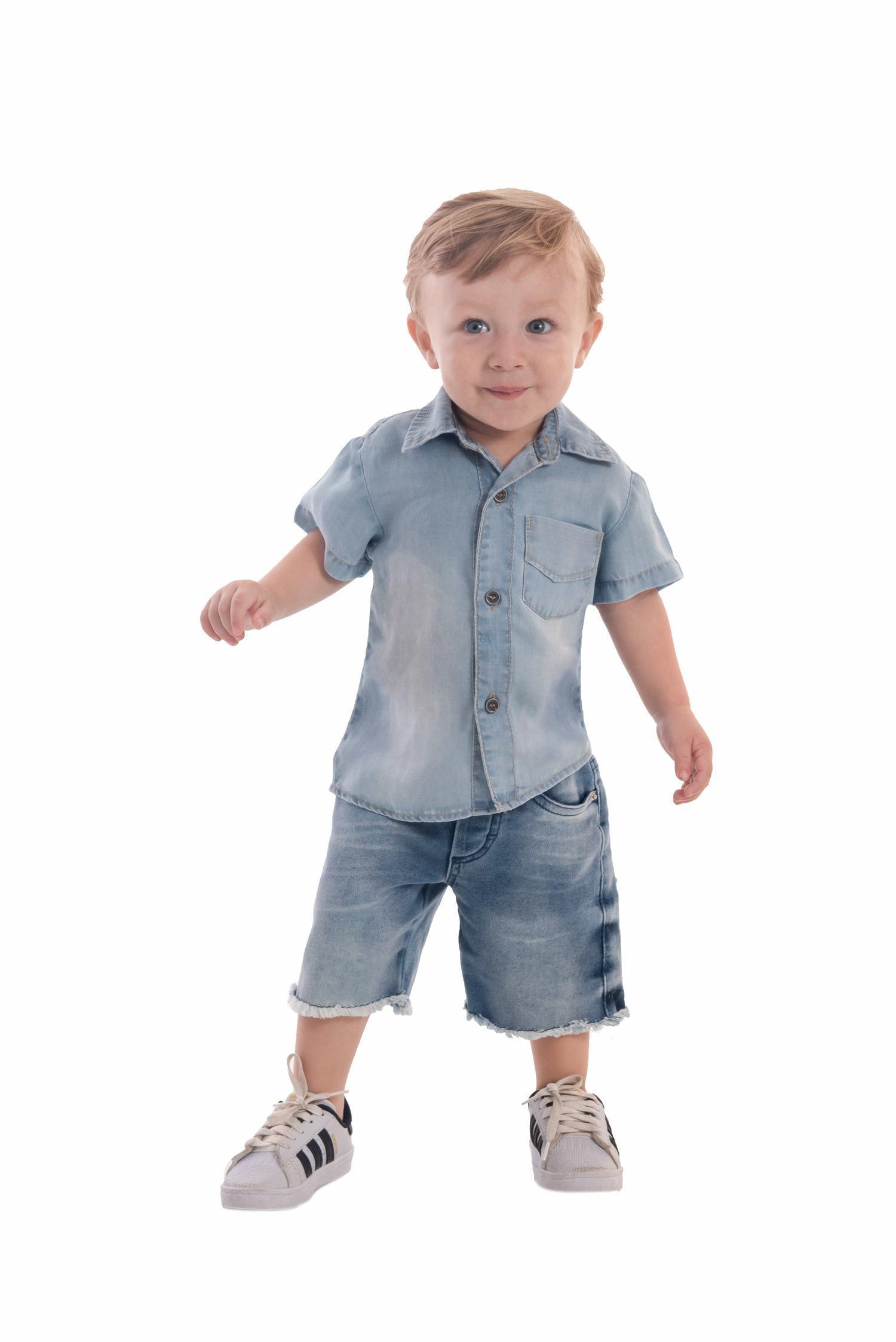 Camisa Jeans Ref. 588