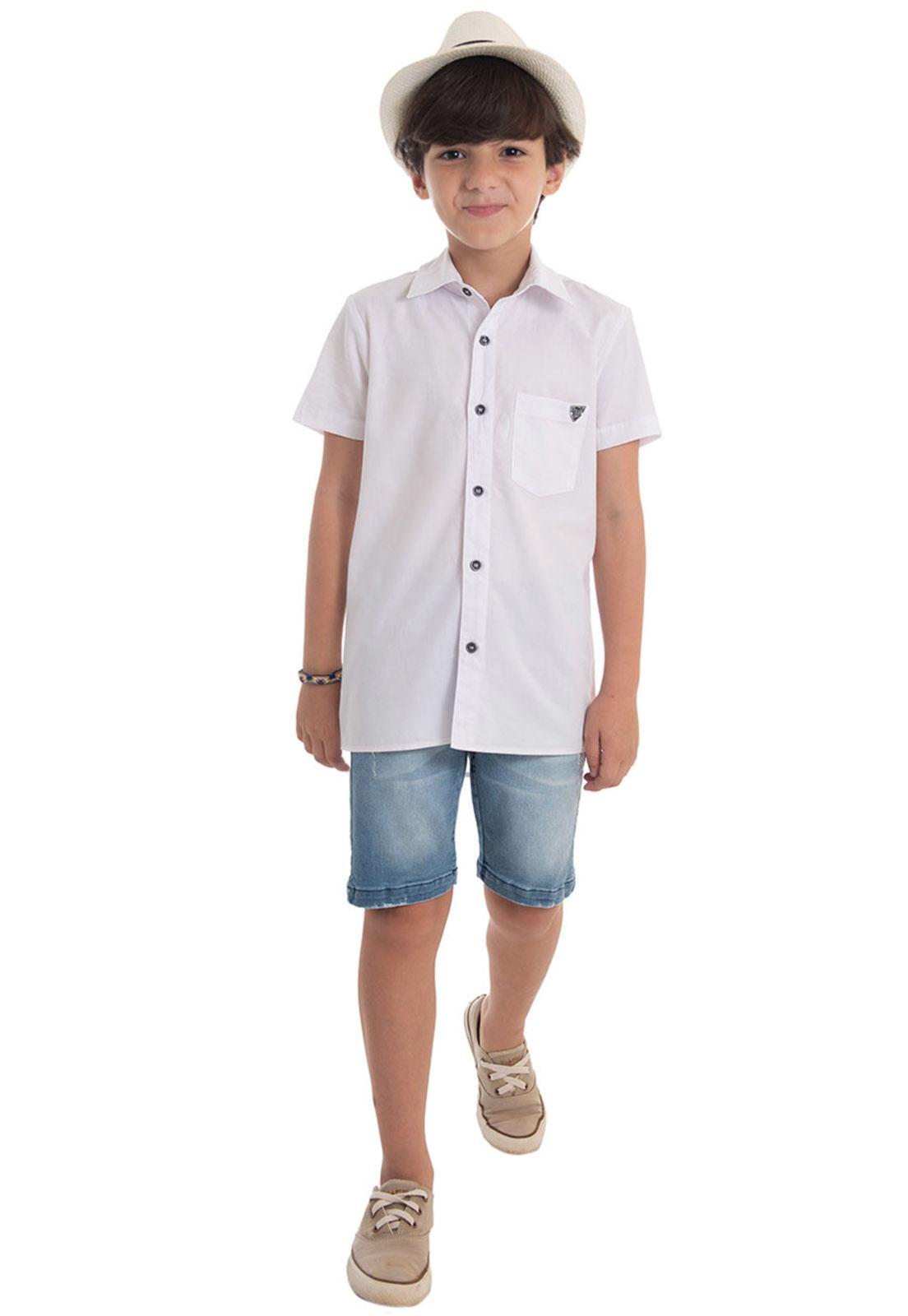 Camisa Trcoline com 1 Bolso
