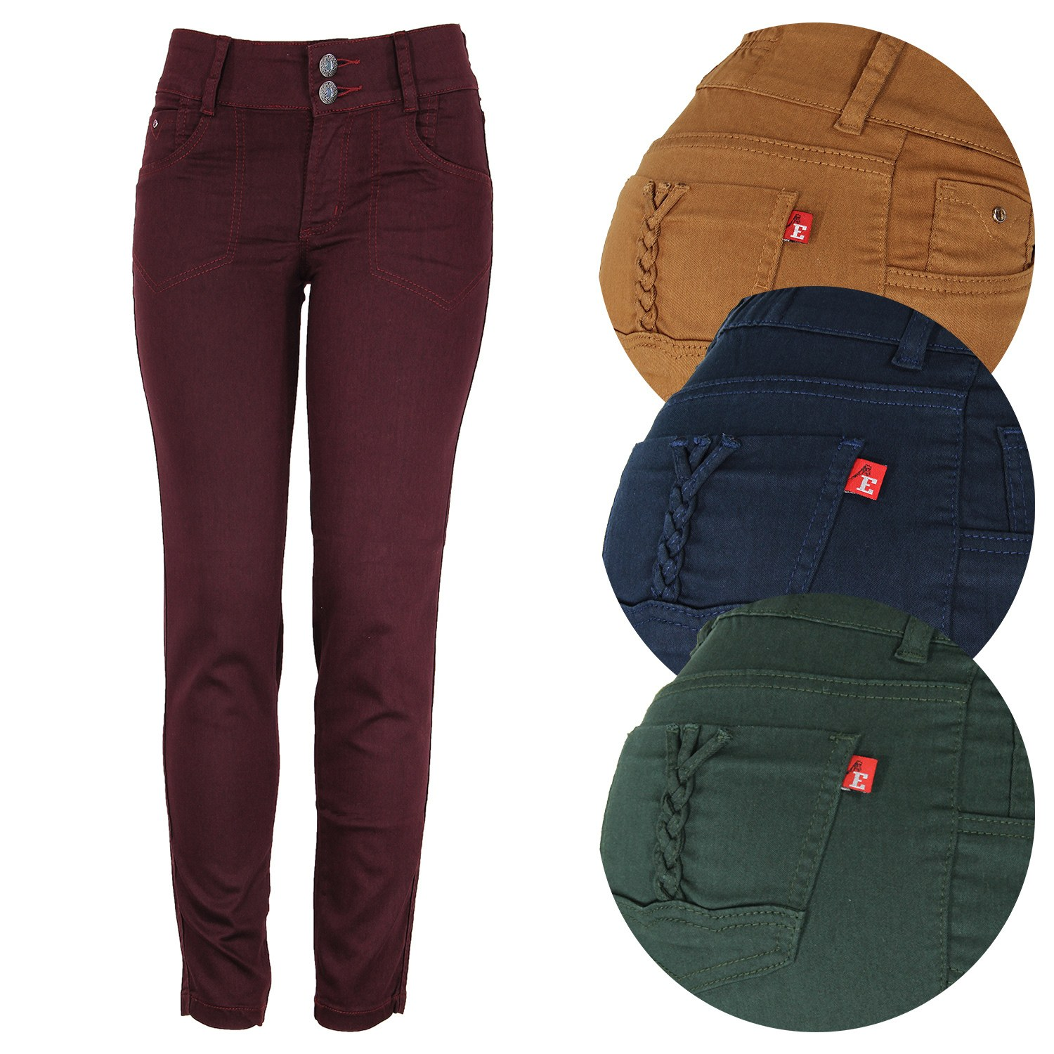 Cigarrete Eruption Jeans Color Andreia [52221]