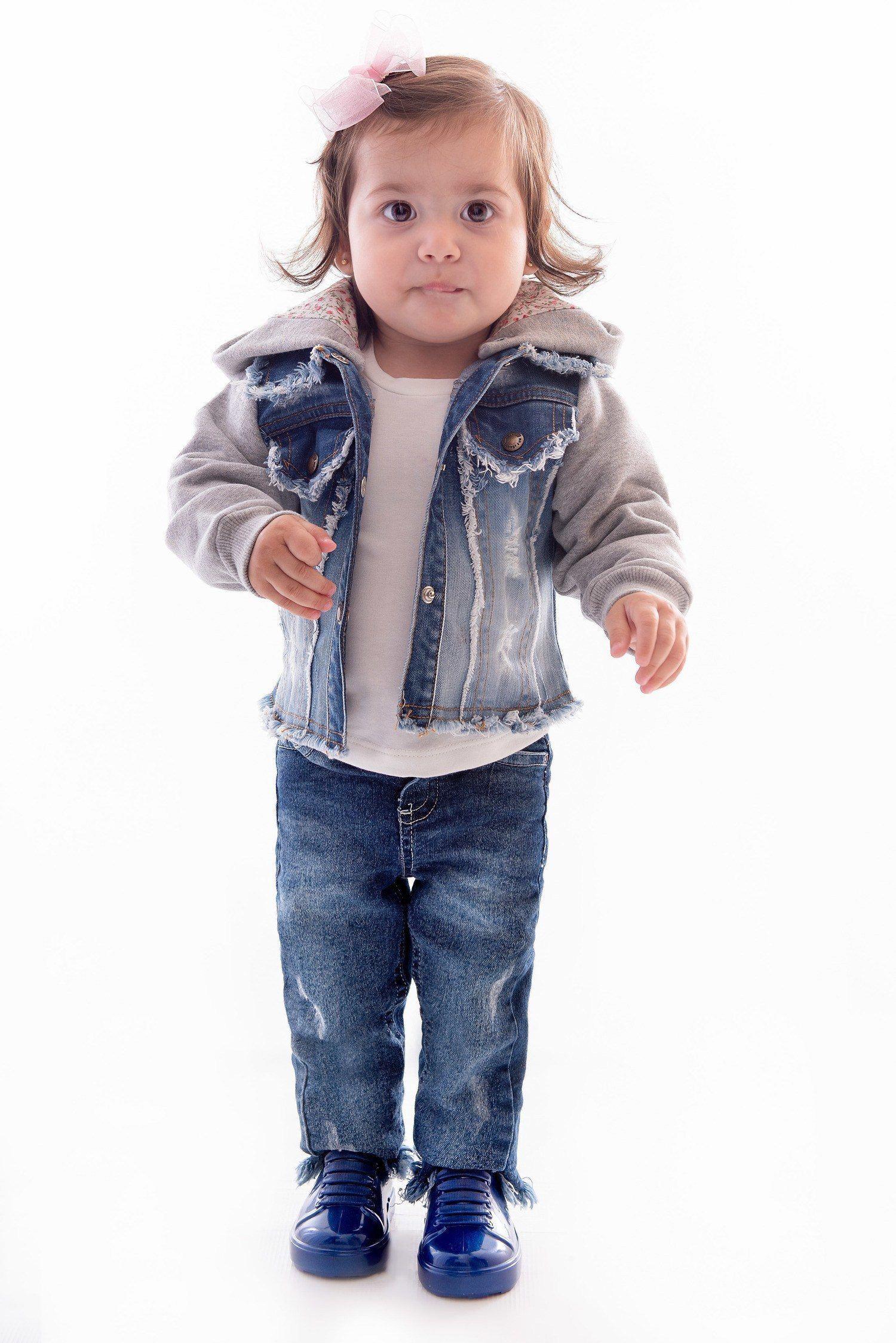 Jaqueta Jeans para Menina Ref. 401