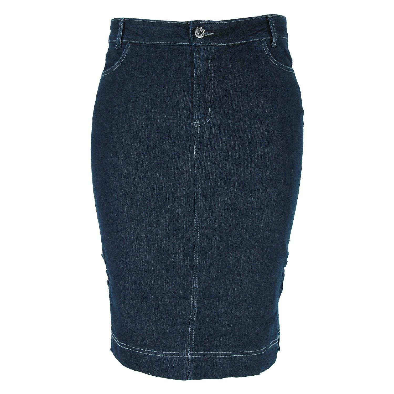 Saia Evangélica Eruption Jeans Zumba [7162AM]