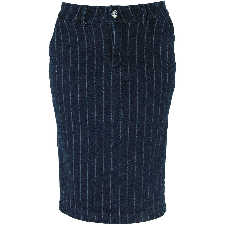 Saia Risca de Giz Eruption Jeans [7164]