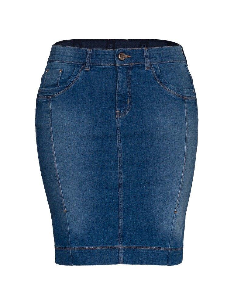 Saia Secretária Feminina Fact Jeans ref. 04111