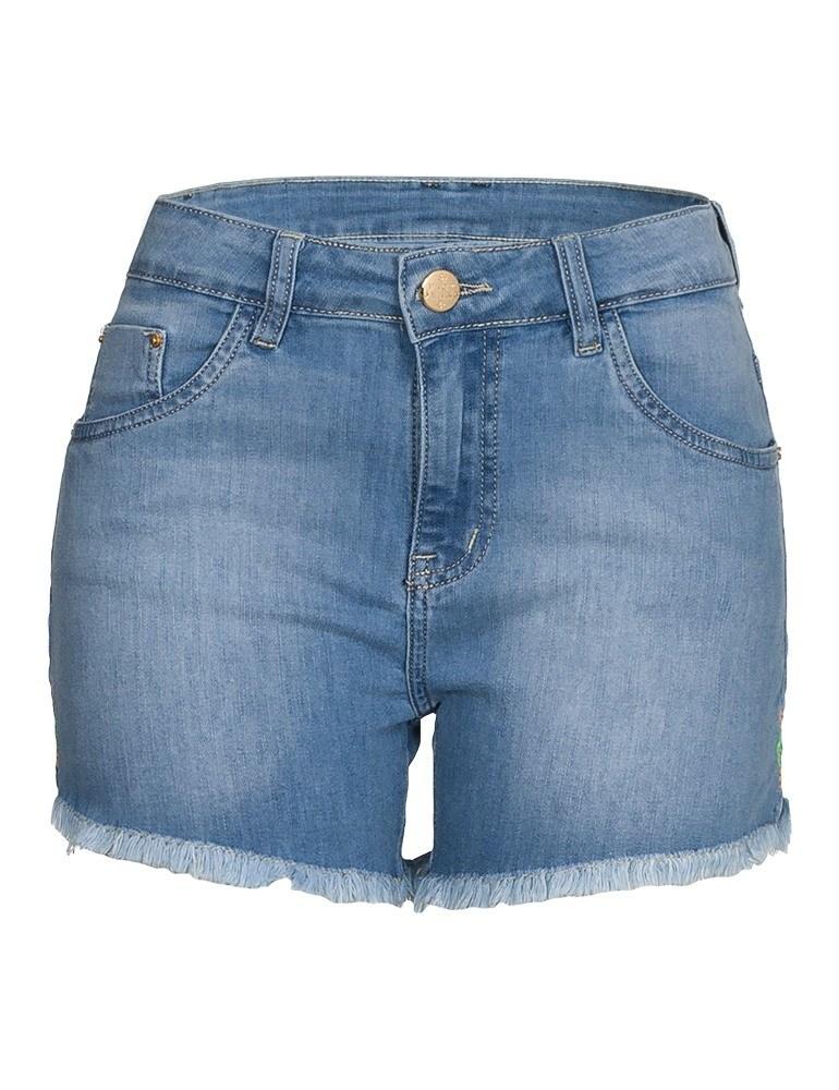 Shorts Jeans Feminino Fact Jeans ref. 04048
