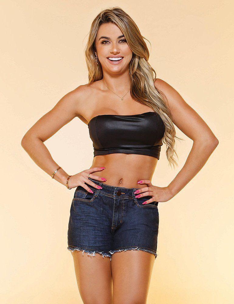 Shorts Jeans Feminino Fact Jeans ref. 04522
