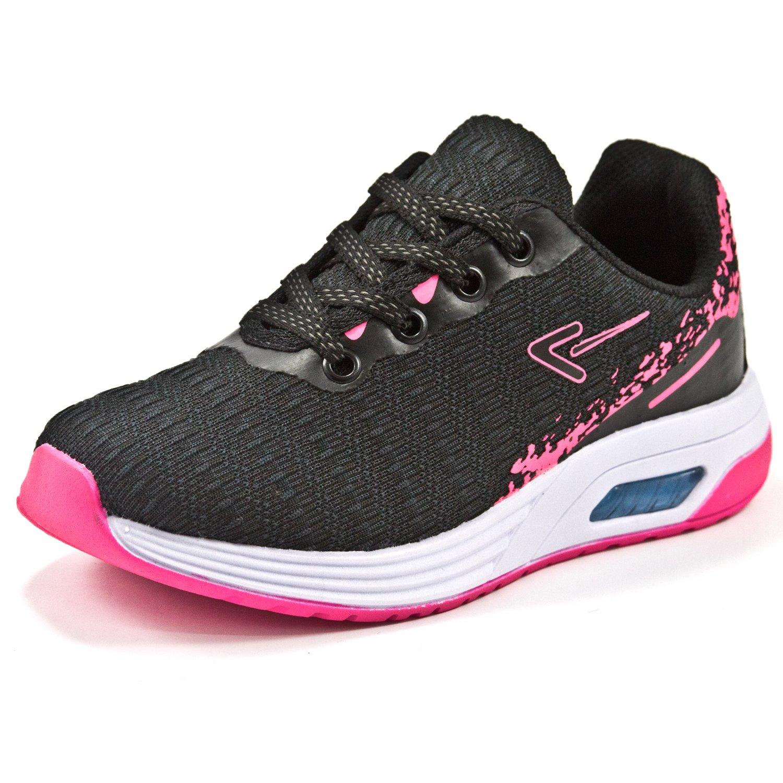 Tênis Box 200 1537 Preto/Pink