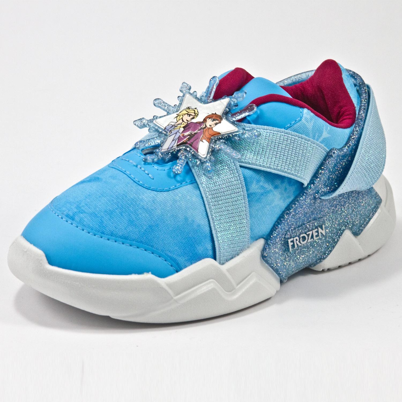 Tênis Grendene 22224 Frozen Branco/Azul