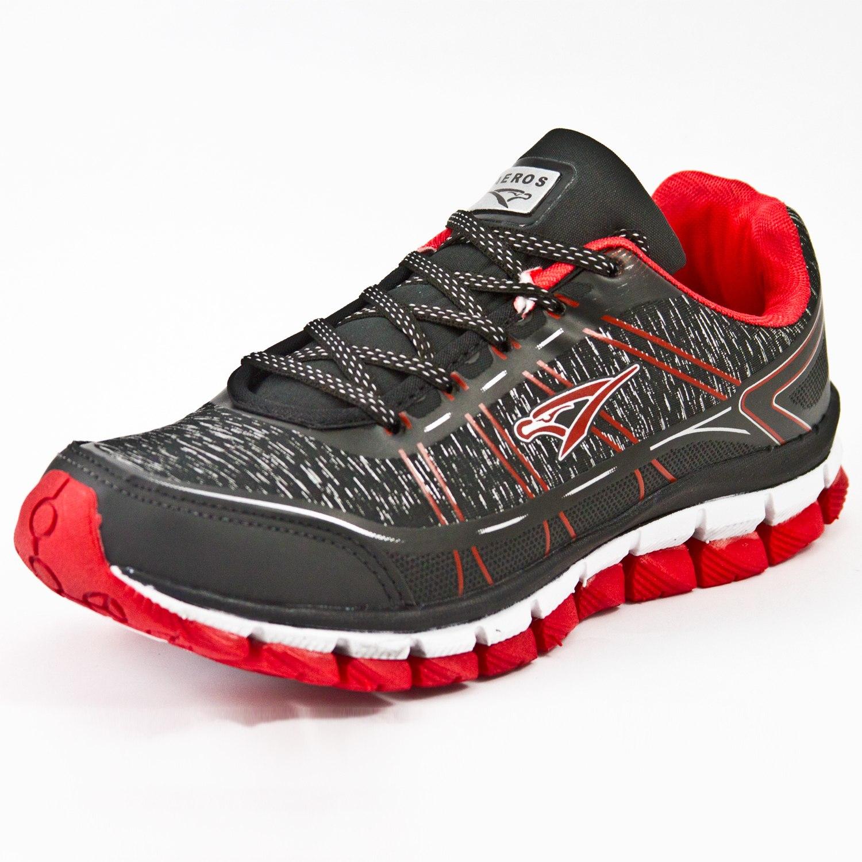 Tênis Jogging Aeros 71 Litras  Preto/Vermelho