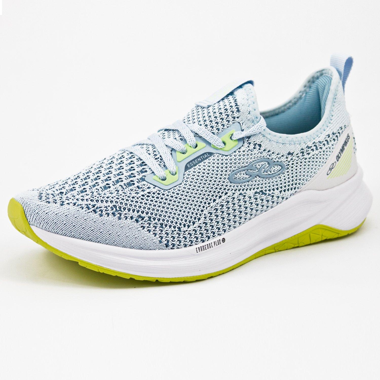 Tênis Jogging Olympikus W Essential  Blue/Limão