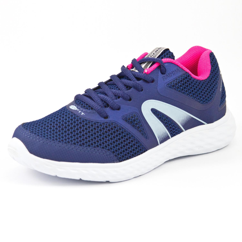 Tênis Jogging Rainha W Journey Marinho/Rosa