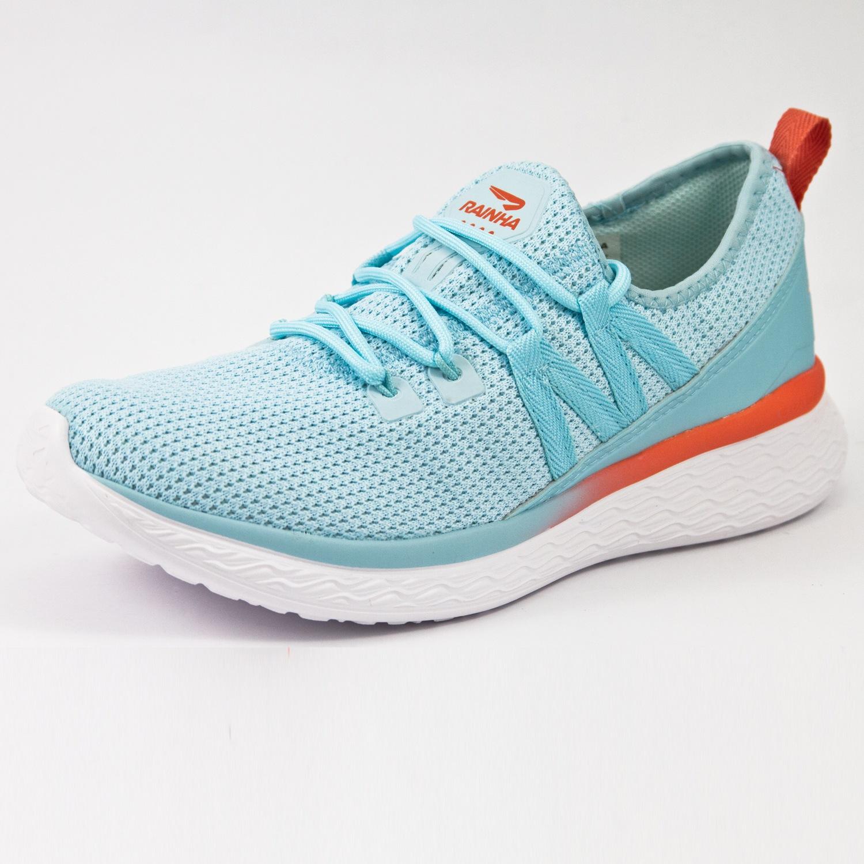 Tênis Jogging Rainha W Snow Azul