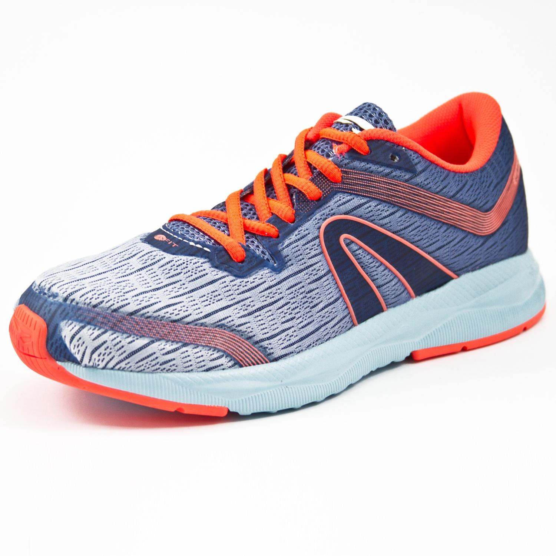 Tênis Jogging Rainha Zenith Azul/Coral