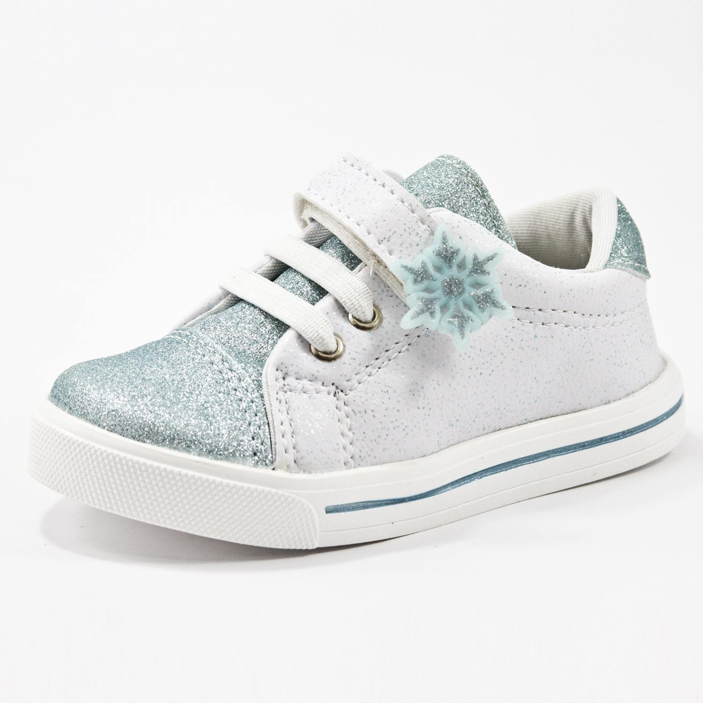Tênis Linda Juju 15610 Ice  Branco/Azul