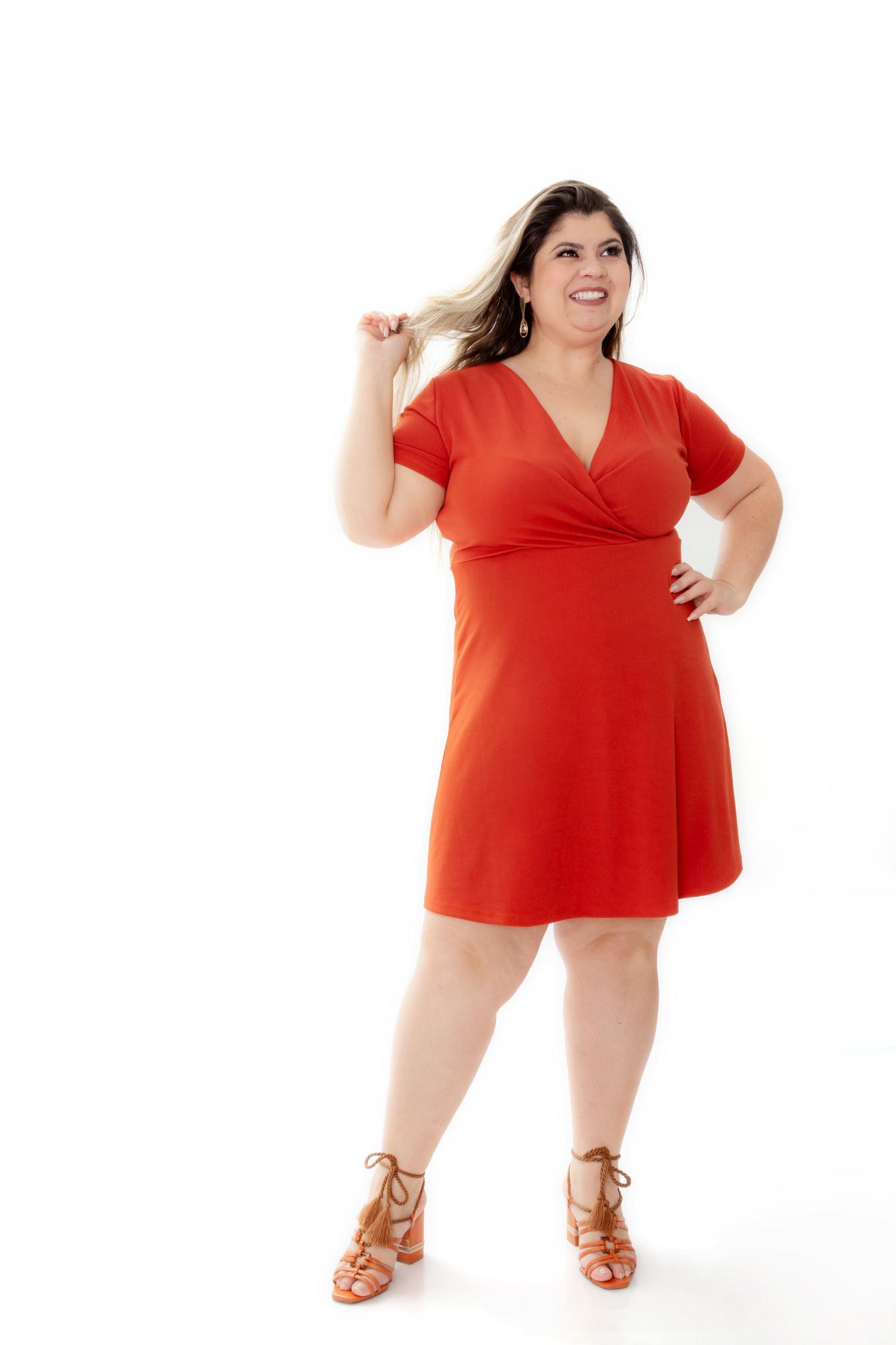 Vestido Plus Size - Lara Ref. 3783
