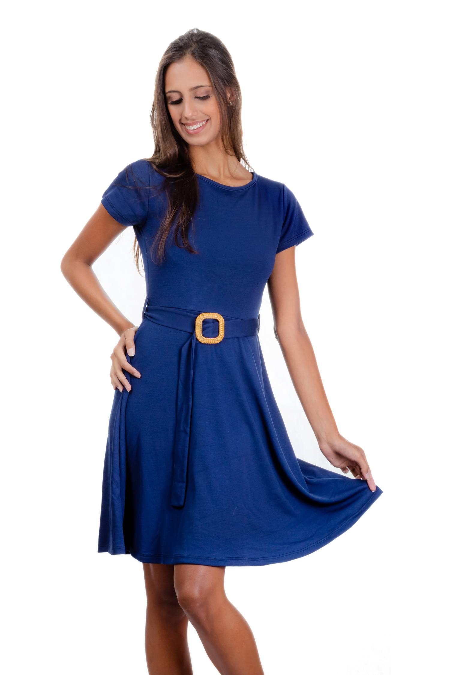 Vestido em Malha com Elastano - Stella Ref. 3780
