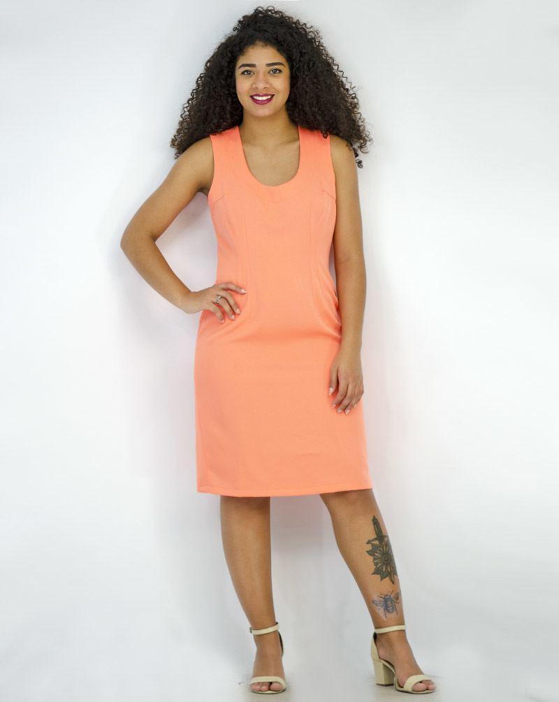 Vestido tubinho Premium [3092264]